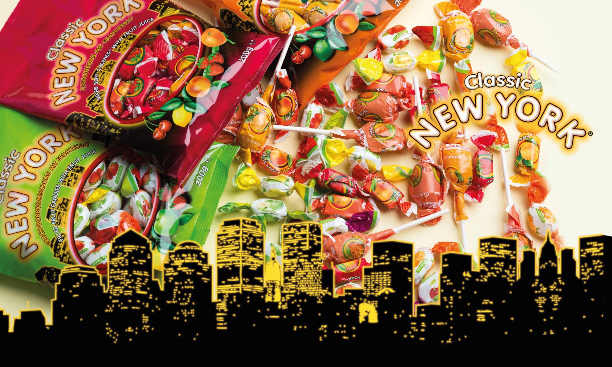 Nieuw: New York® snoep assortiment