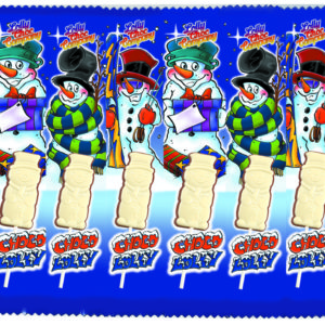 Chocololly Sneeuwman 8-pack