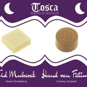 Roombonbons Eid Mubarak & Hand van Fatima